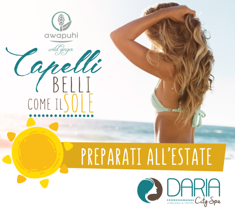 Preparati all'estate – Capelli belli come il sole